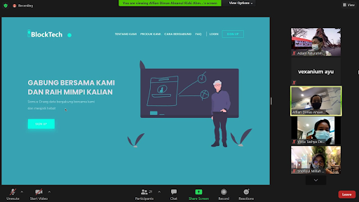 Block Developer Learning Program Hasilkan Ide Ide Menarik Use Case Aplikasi Blockchain
